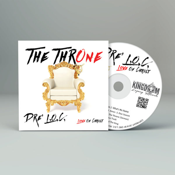 DRE LOC THE THRONE CD COVER MOCK UP