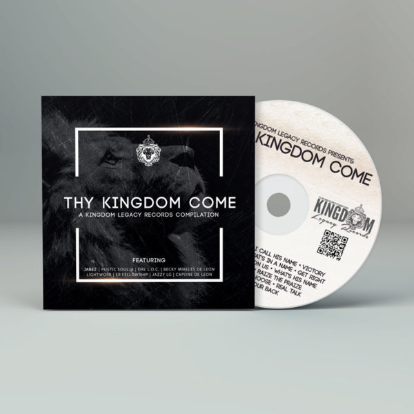 THY KINGDOM COME CD COVER MOCK UP